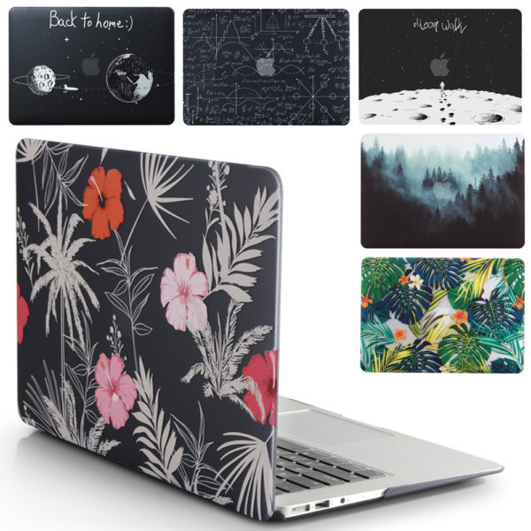 Flowers Floral Personalized Hard Cover Case Macbook Pro Retina Air 11 12 13 15